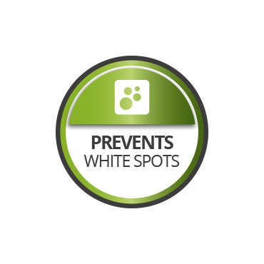 Treatment for white spots on walls
