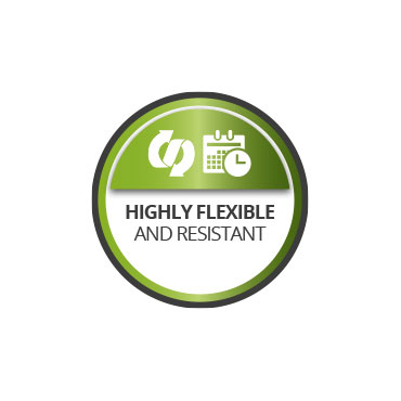 Flexible and resistant